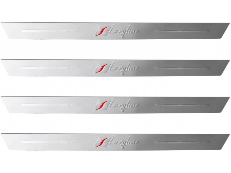 4 battitacco in alluminio Luxyline