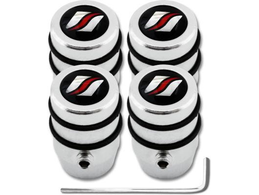 4 bouchons de valve antivol Luxyline design
