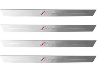 4 umbrales de puerta en aluminio Luxyline