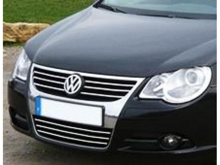 Baguette de calandre supérieure chromée VW EOS