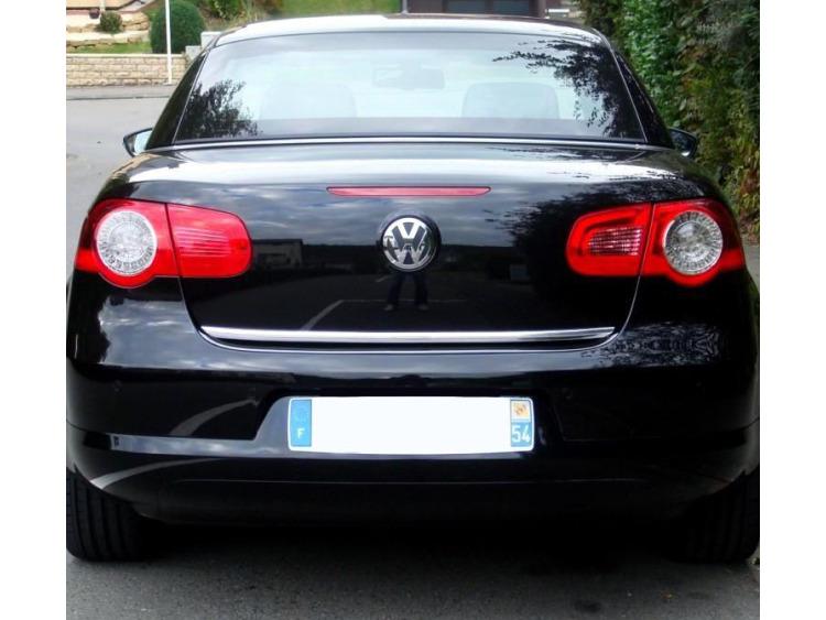 Trunk chrome trim VW EOS