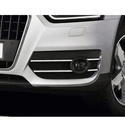 Fog lights chrome trim Audi Q3