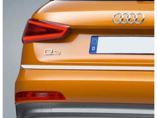 Trunk chrome trim Audi Q3