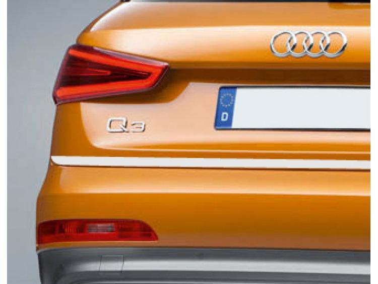 Baguette de coffre chromée Audi Q3