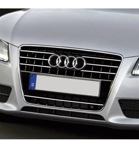 Moldura de calandria cromada Audi A5 Cabriolet 09-11 Audi A5 Coupé 07-11 Audi A5 Sportback 09-11