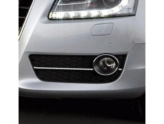 Fog lights chrome trim Audi A5 Cabriolet 0911 Audi A5 Coupé 0711 Audi A5 Sportback 0911