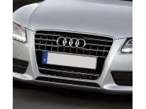 Double baguette de calandre chromée Audi A5 Cabriolet 0911 Audi A5 Coupé 0711 A5 Sportback 0911