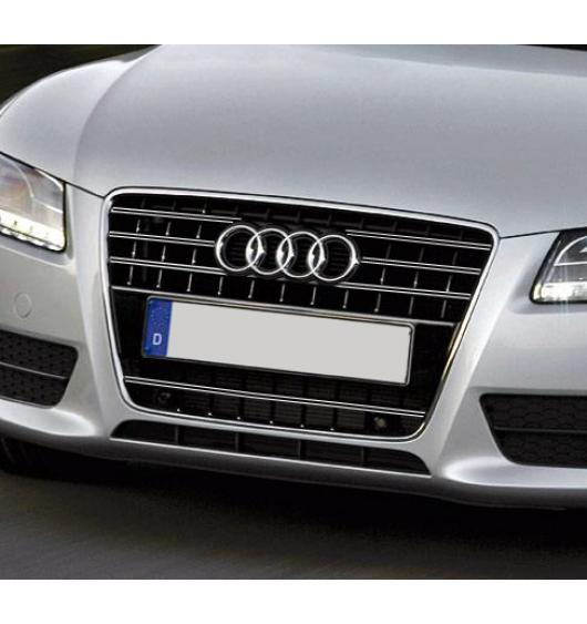 Radiator grill dual chrome trim Audi A5 Cabriolet 09-11 Audi A5 Coupé 07-11 Audi A5 Sportback 09-11