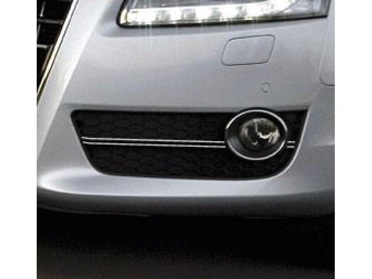 Doppel-Zier-Chromleiste für Nebelscheinwerfer Audi A5 Cabriolet 09-11 Audi A5 Coupé 07-11 Audi A5 Sp