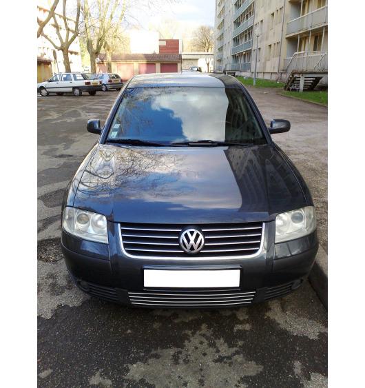 Baguette de calandre inférieure chromée VW Passat 95-05