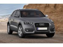 ZierChromleiste für die NebelscheinwerferKonturen Audi Q3