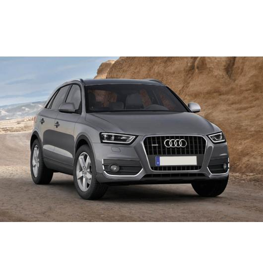 Chrome moulding trim for fog lights contours Audi Q3