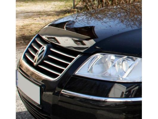 Upper radiator grill chrome trim VW Passat 9505