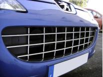 Baguette de calandre chromée Peugeot 407  Peugeot 407 SW