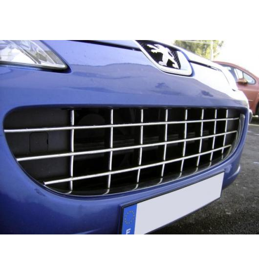 Radiator grill chrome moulding trim Peugeot 407 & Peugeot 407 SW
