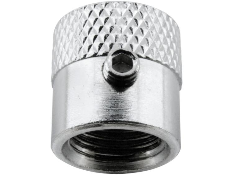 """4 bouchons de valve antivol Italie """"strié"""""""