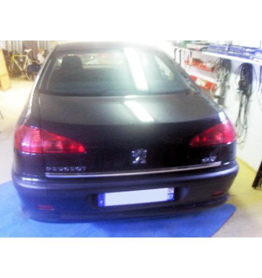 Chrom-Zierleiste für Kofferraum Peugeot 607
