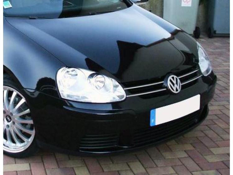 Moldura de calandria superior cromada VW Golf 5