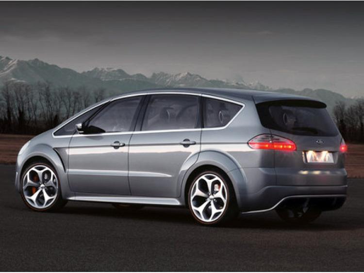 Zier-Chromleiste für seitliche Autofensterkonturen Ford S-Max