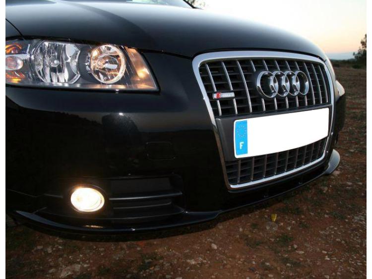 Chromleiste für Kühlergrill Audi A3 Série 2 03-08 Audi A3 Série 2 Sportback 04-08 Audi S3 06-21 S3 s