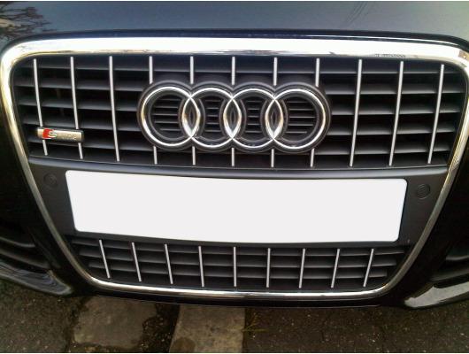 Radiator grill chrome moulding trim Audi A4 série 2 phase 2 0408  Audi S4 0308 série 2 v2