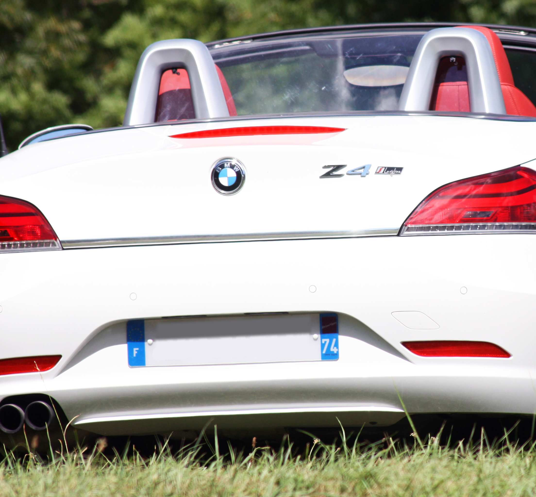 Bmw Z4 Boot: Trunk Chrome Trim BMW Z4