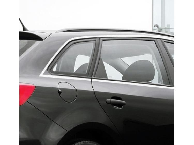 Baguette chromée de contour des vitres latérales Seat Ibiza ST