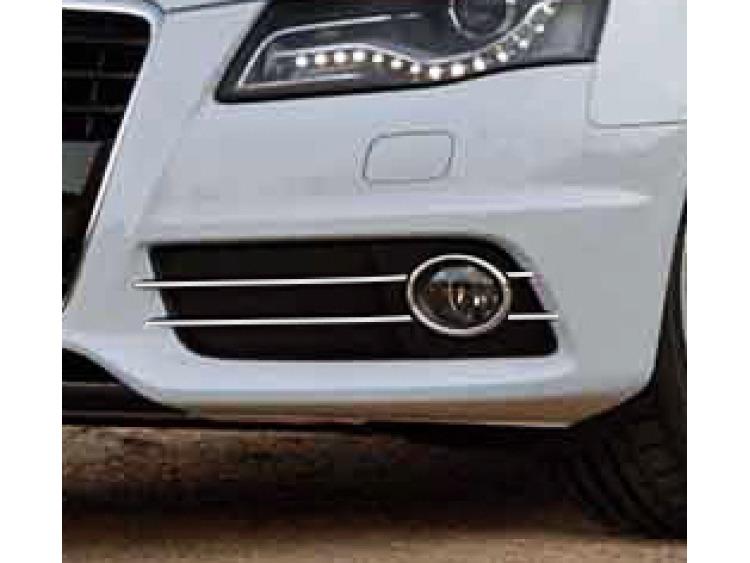 Moldura cromada para antinieblas Audi A4 série 3 07-11 & Audi A4 série 3 avant 08-11