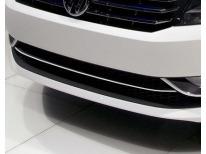 Baguette de calandre inférieure chromée VW Passat 1019 v1