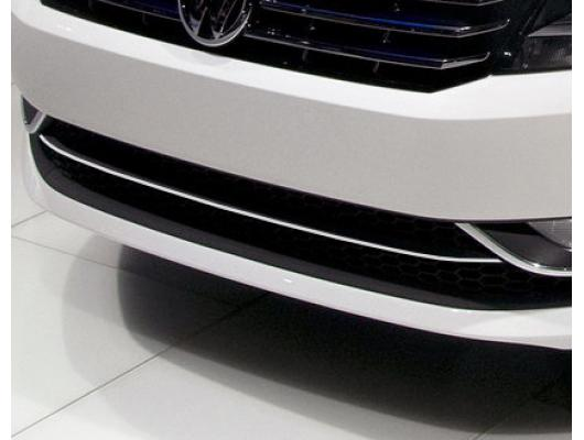 Lower radiator grill chrome trim VW Passat 1019 v1