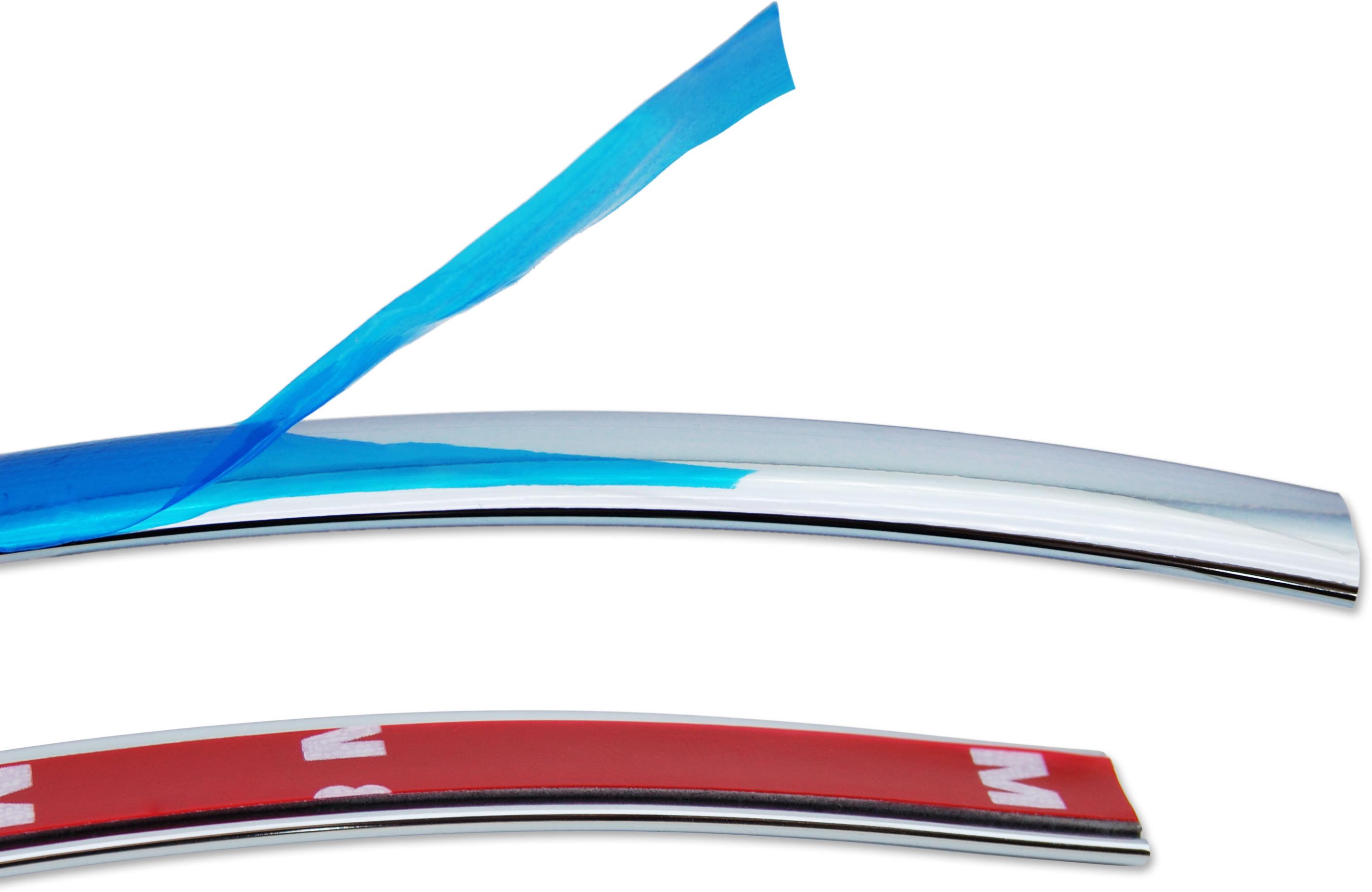 Baguette Chrome De Contour Des Vitres 12mm X 2 5m