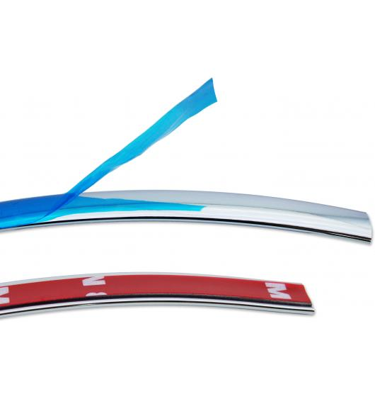 Side windows chrome trim 12mm x 2.5m