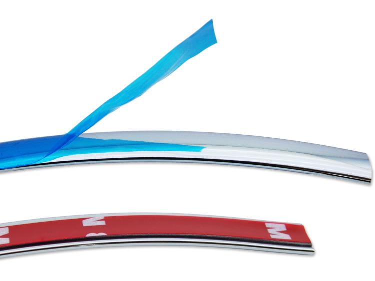 Zier-Chromleiste für Kühlergrill-Unterteil Opel Astra GTC