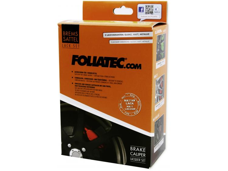 Painting kit for brake calipers matte black