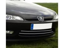Radiator grill chrome moulding trim Peugeot 406 coupé 9703