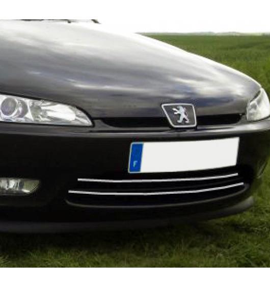 Moldura de calandria cromada Peugeot 406 coupé 97-03