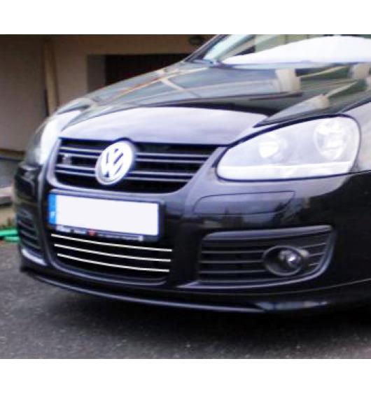 Zier-Chromleiste für Kühlergrill-Unterteil VW Golf 5 GT TDI