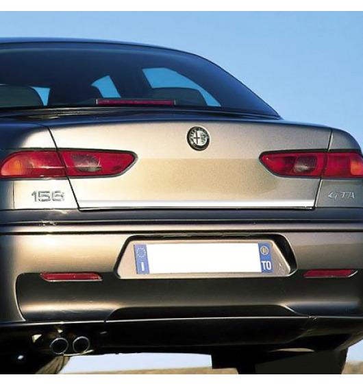 Chrom-Zierleiste für Kofferraum Alfa Romeo 156