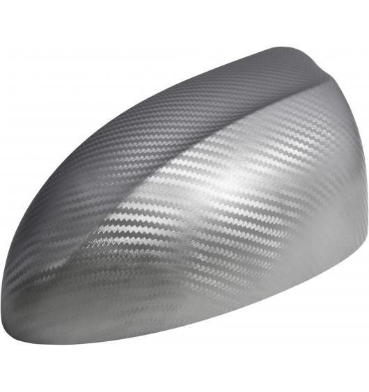 Film adhésif Luxyline 3D carbone 70cm gris argenté