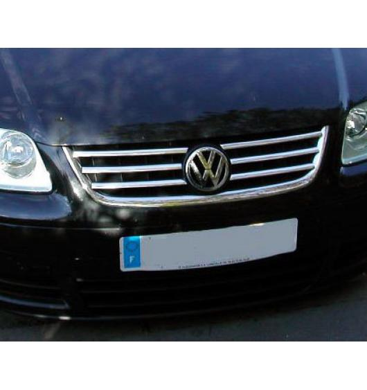 Radiator grill chrome moulding trim VW Touran 03-06