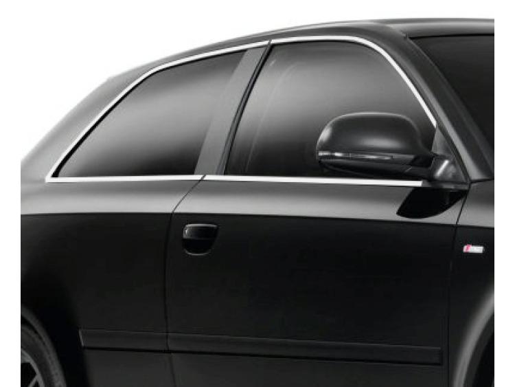 Side windows chrome trim Audi A3 Série 1 96-00/Série 1 Phase 2 00-03/Série 2 03-08/Série 2 Phase 2 0