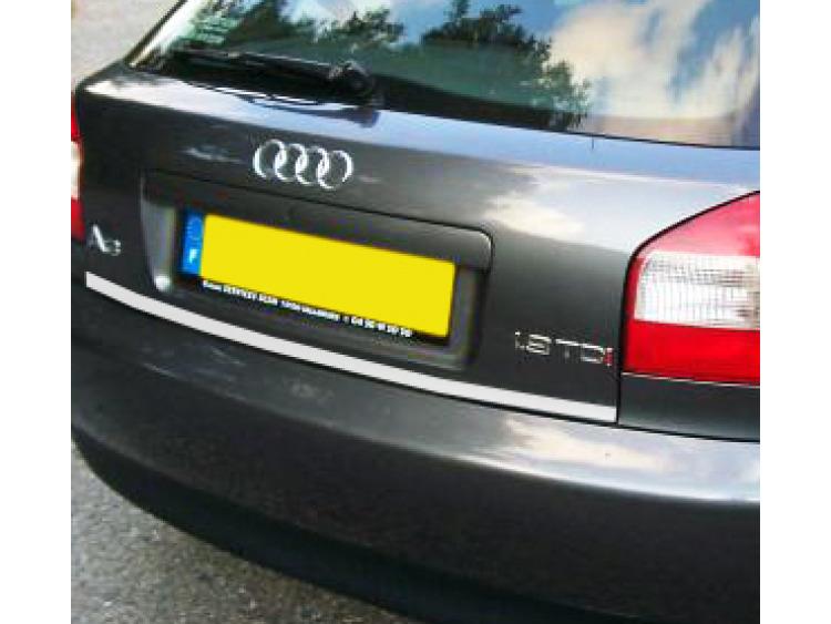 Chrom-Zierleiste für Kofferraum Audi A3 Série 1 96-00