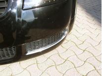 Baguette chromée pour aération Audi TT Série 1 9806