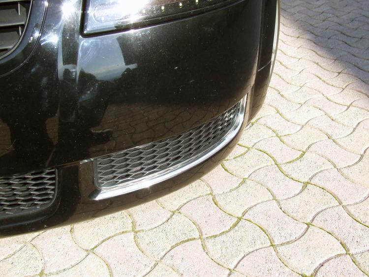 Chromzierleiste für Kühlergrill Audi TT Série 1 98-06