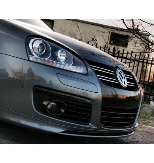 Baguette de calandre supérieure chromée VW Fox/Golf/Jetta/Passat/Phaeton/Scirocco/Sharan/Tiguan...