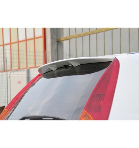 Spoiler / fin Fiat Punto phase 1 99-03 3p & Fiat Punto phase 2 03-05 3p v2 primed + fixing glue
