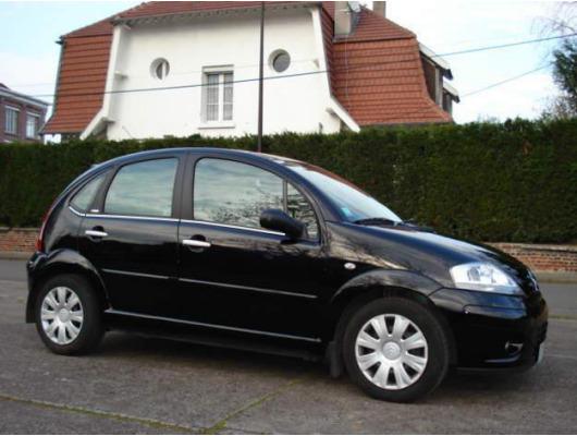 Side windows lower chrome trim Citroën C3 0209 C3 II 0919 C3 III 1619 C3 Picasso C3 Pluriel