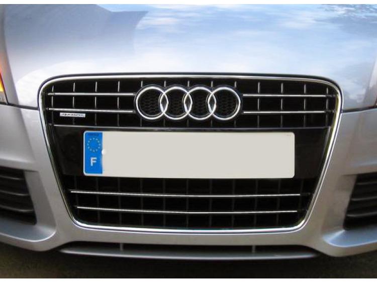 Radiator grill chrome moulding trim Audi TT Série 2 06-14 Audi TT RS Audi TTS