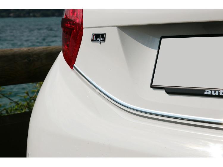 Chrom-Zierleiste für Kofferraum Peugeot 208
