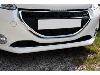Moldura de calandria inferior cromada Peugeot 208